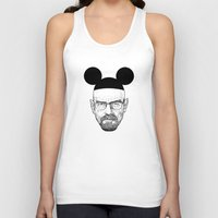 walter white Tank Tops featuring Walter White by Barbo's Art