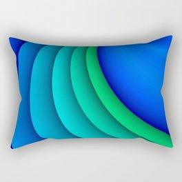 fluid -47- Rectangular Pillow