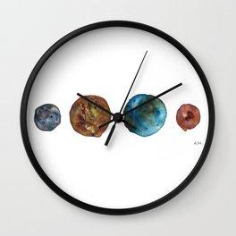 Planets: Inner Solar System Wall Clock