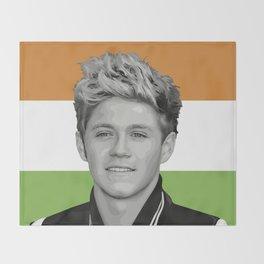 Niall Horan Throw Blanket