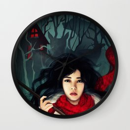 Hunting Monsters Wall Clock