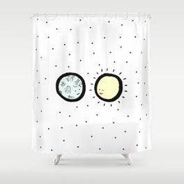 Moon & Sun Shower Curtain