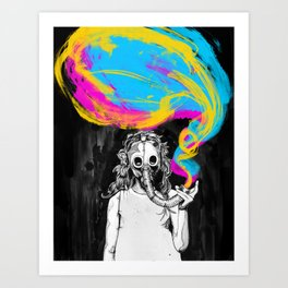 DeathBreath Art Print
