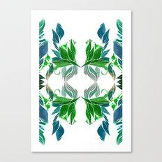 Art Nouveau Pattern  Canvas Print