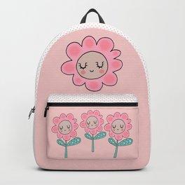 Rose quartz flower Backpack