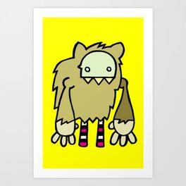 Le Loup-Garou Art Print