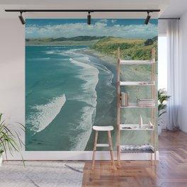 Raglan beach, New Zealand Wall Mural