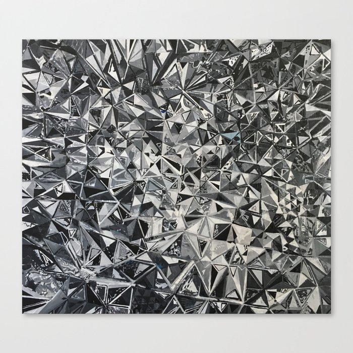 Foil Canvas Print
