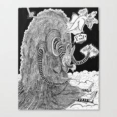 R.I.Puppy  Canvas Print