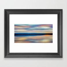 EVENING ROMANCE Framed Art Print