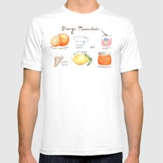 Marmalade White Mens Fitted Tee MEDIUM