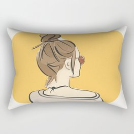 Fashion Sunday-Funday Rectangular Pillow