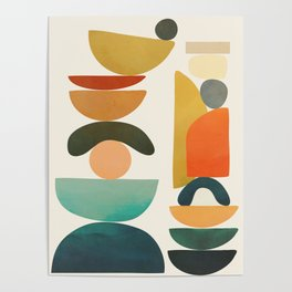 Modern Abstract Art 72 Poster