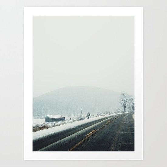 West Kill, NY Art Print