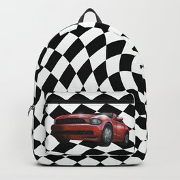 Red Car Victory Lap Backpack