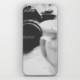 Vivitar and Tea Time iPhone Skin
