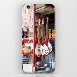 New York Guitars iPhone Skin