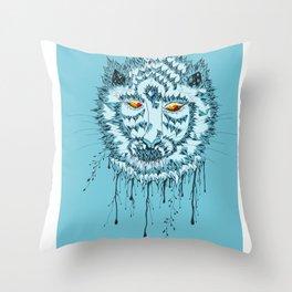 Tiger of Artist Throw Pillow