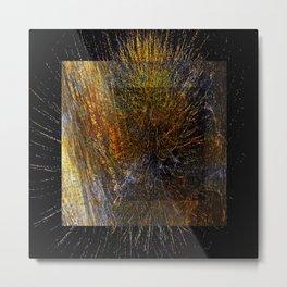 geometric design exsplosion Metal Print