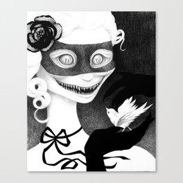 Cravings (whiteout) Canvas Print