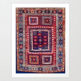 Karakecili Bergama Northwest Anatolian Rug Print Art Print