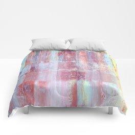 Rainbow Abstract Art Comforters