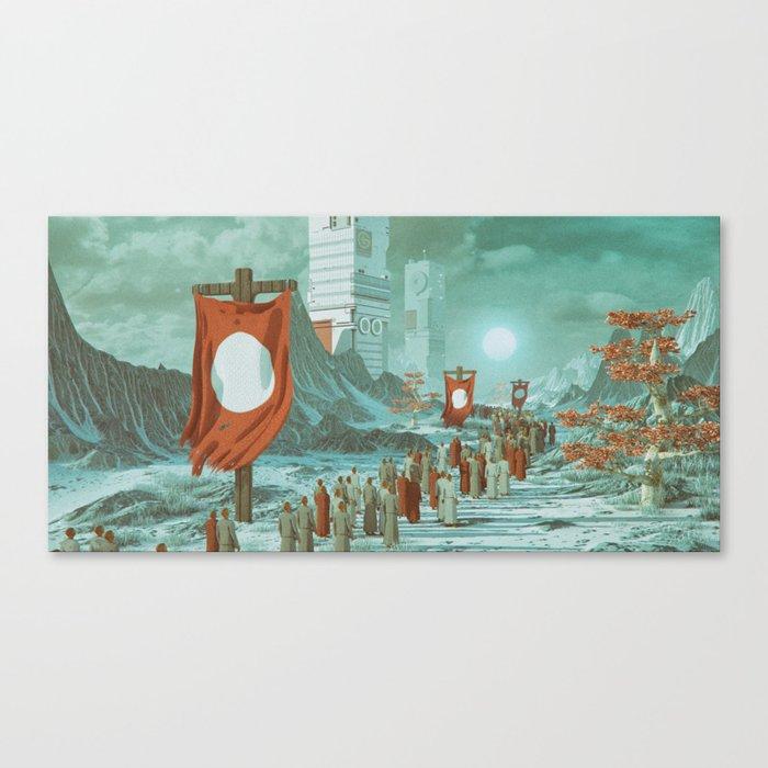 PILGRIMAGE (everyday 10.10.16) Canvas Print