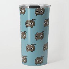 Cat Loaf - Brown Kitty Travel Mug