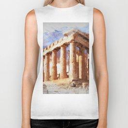 Acropolis Of Athens Biker Tank