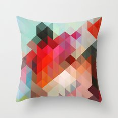 Heavy Words - City 02. Throw Pillow
