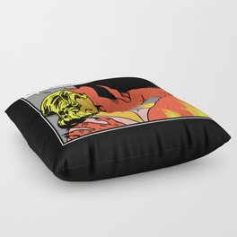 Missed You Satan Floor Pillow