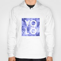 sayings Hoodies featuring Dreams of YOLO Vol.3 by HappyMelvin