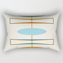 Mid-Century Modern Art 1.2 Rectangular Pillow
