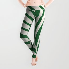 Minimalist Palm Leaf Leggings