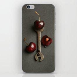 Cherries and Vintage Spanner iPhone Skin