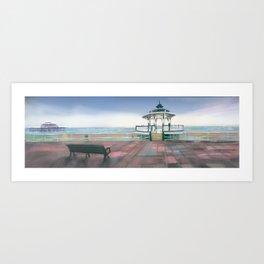Brighton Sea Front Art Print