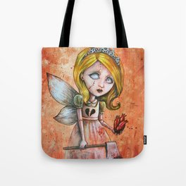 Love Hurts Dark Valentines Undead Fairy Princess Tote Bag