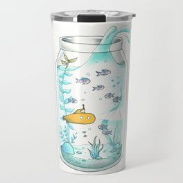 Yellow Submarine Travel Mug