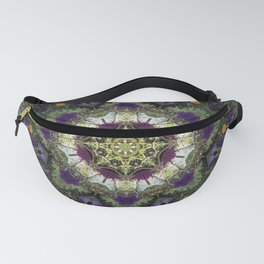 Summer Floral Jewels Kaleidoscope Fanny Pack