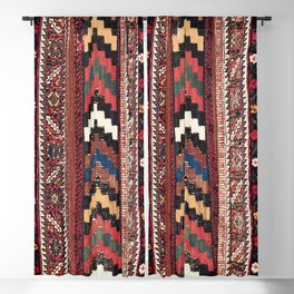 Afshar Khorjin Kerman South Persian Double Bag Print Blackout Curtain