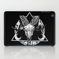 goat iPad Cases featuring Goat by alesaenzart