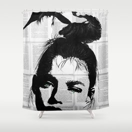 Can be bw Shower Curtain
