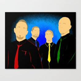 V-band Canvas Print