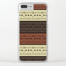 Rhythm of the Earth Clear iPhone Case