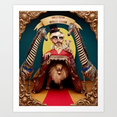 Uncle Edgar and the Hybrid Circus Art Print
