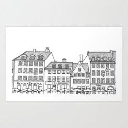 Nyhavn Art Print