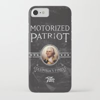 bioshock iPhone & iPod Cases featuring Bioshock Motorized Patriot by Liquidsugar