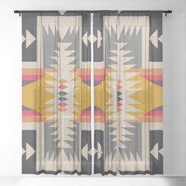 bonfire Sheer Curtain