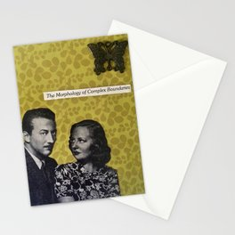 The Morphology of Complex Boundaries Stationery Cards