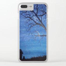 Dreamer I Clear iPhone Case